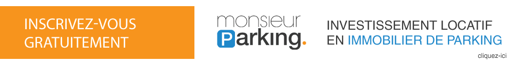 Investir dans un parking, box ou garage