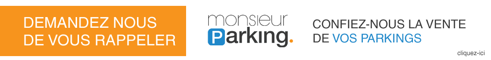 Confiez-nous la vente de vos places de parking