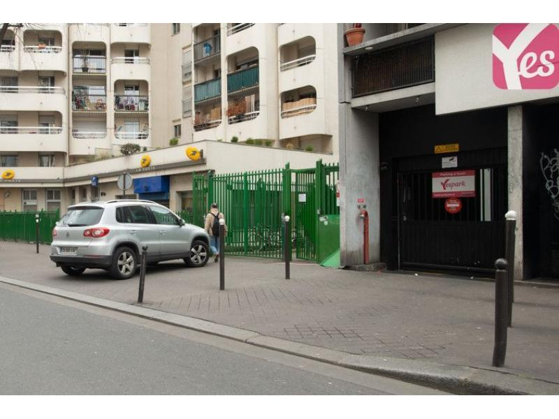 Abonnement Parking Yespark 62 Rue De L 39 Ourcq 75019 Paris
