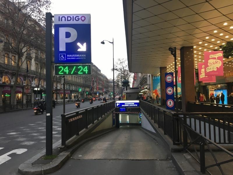 paris 9 48 boulevard haussmann location de place de parking. Black Bedroom Furniture Sets. Home Design Ideas