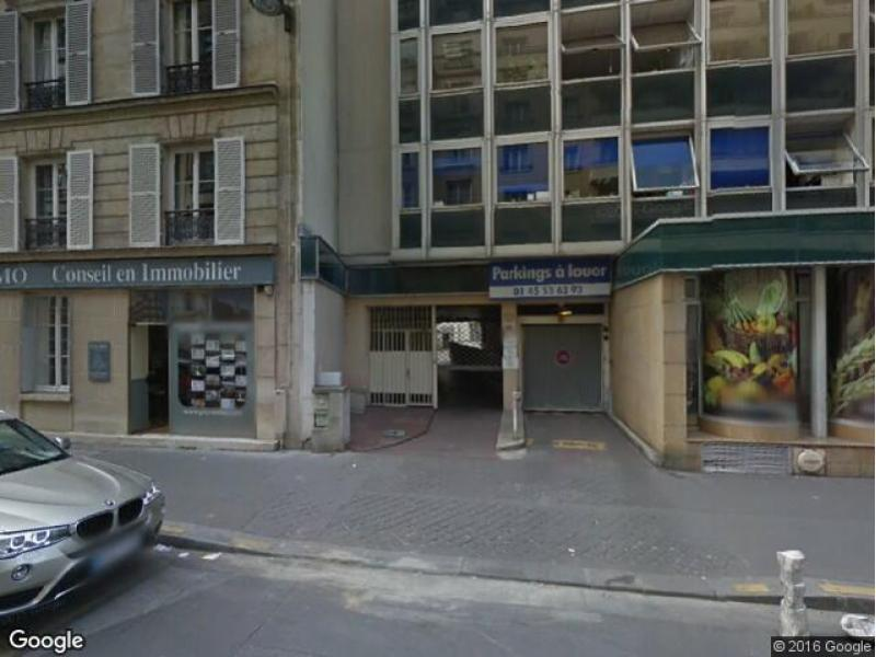 Place de parking à louer - Paris 75007 - 147 Rue de l'Université, 75007 Paris, France
