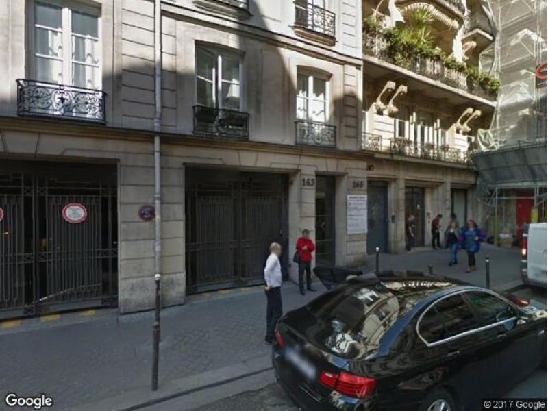 Location de parking - Paris 9 - 163 rue Montmartre