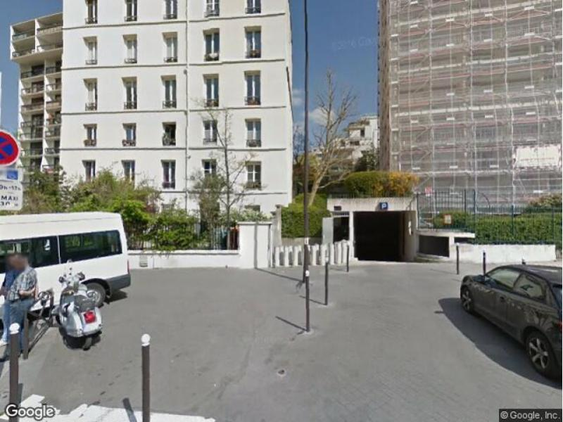place de parking louer paris 20 66 rue pix r court. Black Bedroom Furniture Sets. Home Design Ideas