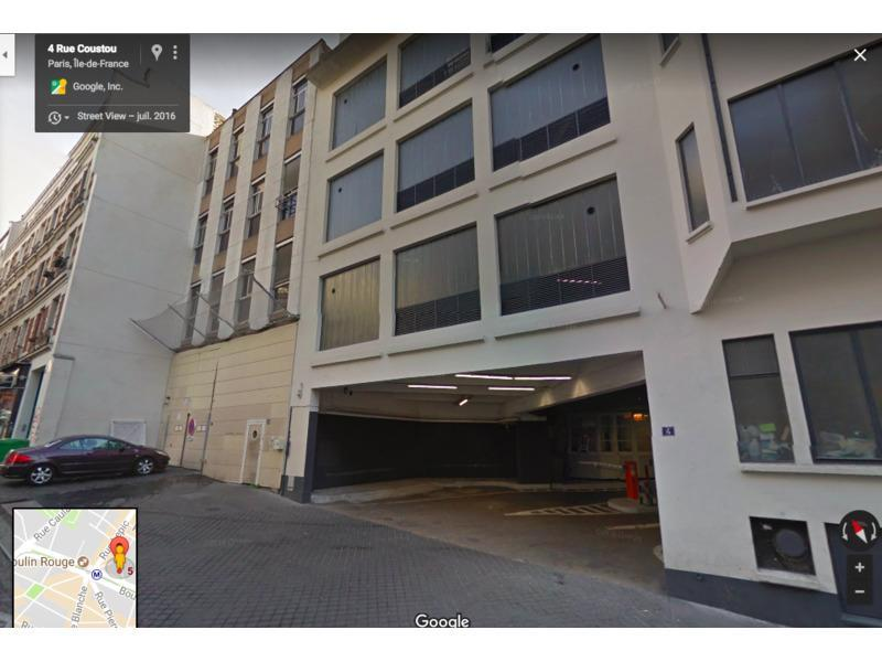 place de parking louer paris 75018 4 rue coustou 75018 paris france 180 euros. Black Bedroom Furniture Sets. Home Design Ideas