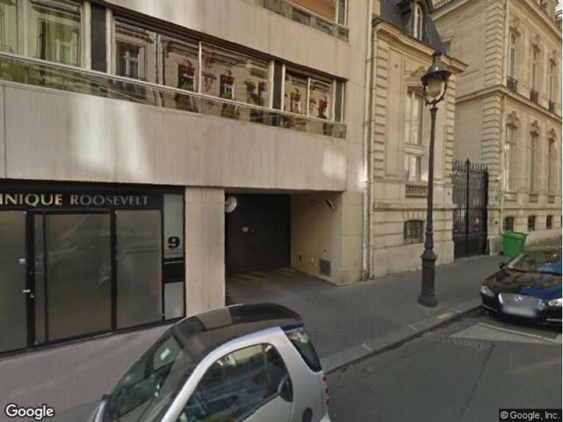 place de parking louer paris 8 9 rue jean goujon. Black Bedroom Furniture Sets. Home Design Ideas