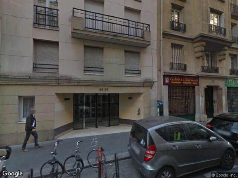 Location de parking - Paris 17 - 44 rue Boursault