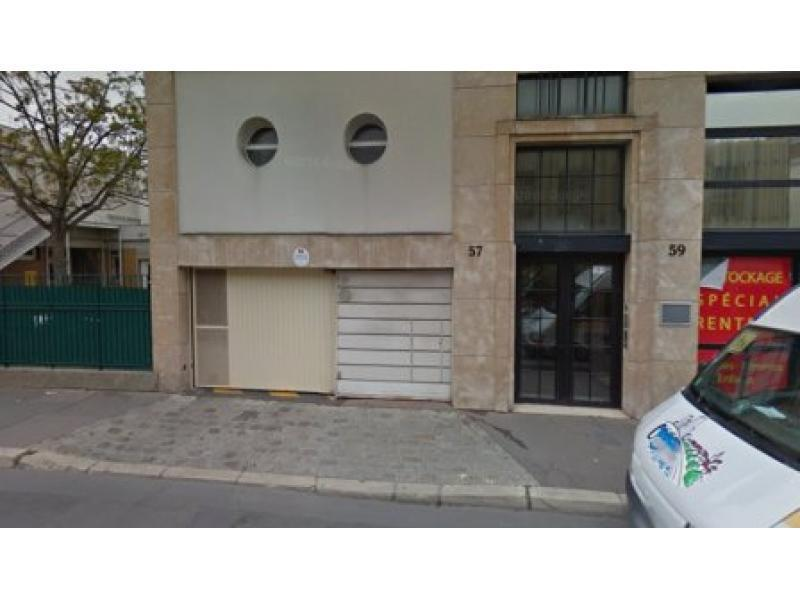 place de parking louer courbevoie 92400 68 33 euros 57 rue armand silvestre. Black Bedroom Furniture Sets. Home Design Ideas