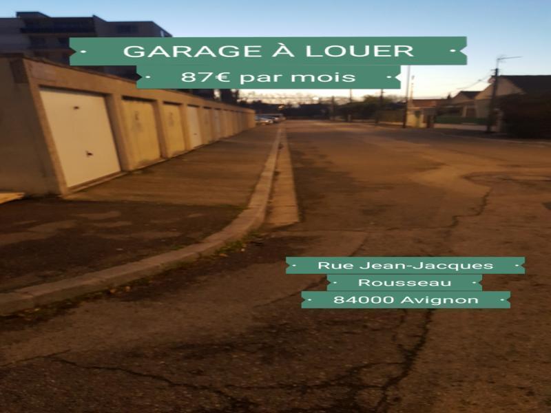 Location de garage avignon croix des oiseaux for Garage ou local a louer