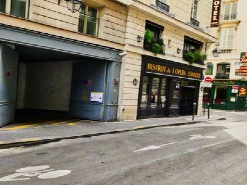 Abonnement Parking OnePark 18 Rue Favart, 75002 Paris, France