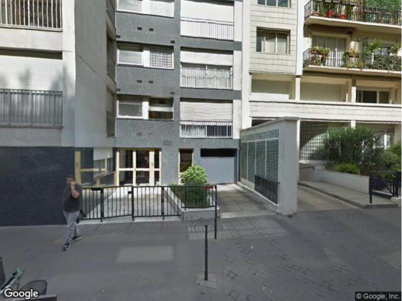 place de parking louer paris 16 18 rue f licien david. Black Bedroom Furniture Sets. Home Design Ideas