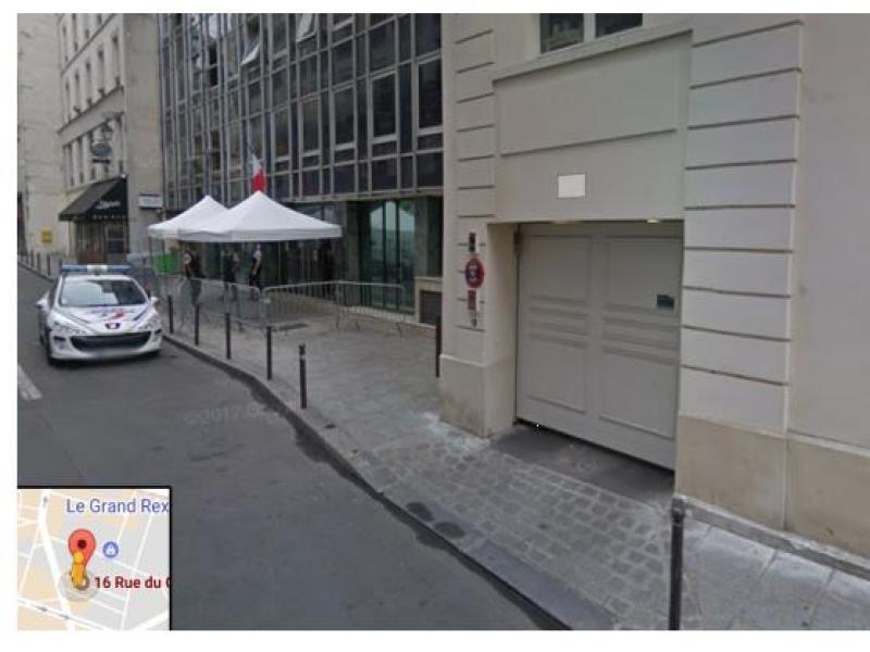 Place de parking à louer - Paris 75002 - 16 rue du Croissant