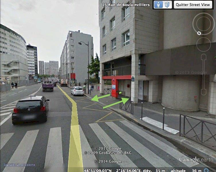 Place de parking à louer - Paris 75016 -  - 260 euros - 15 Rue de Boulainvilliers, 75016 Paris, France