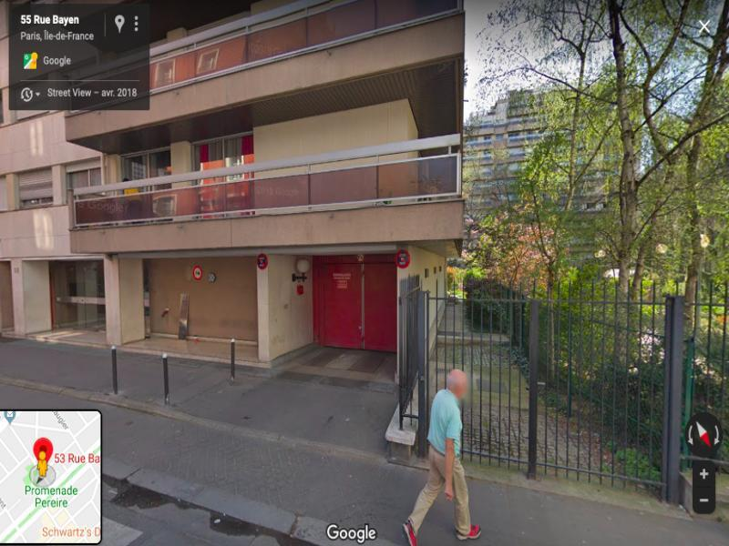 Vente de parking - Paris 17 - 53 rue Bayen