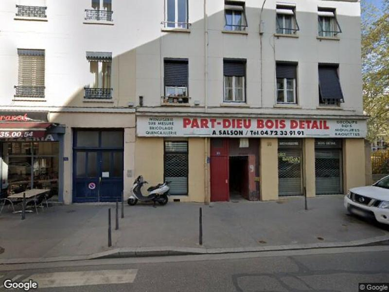 Place de parking à louer - Lyon 3 - 71 rue Baraban