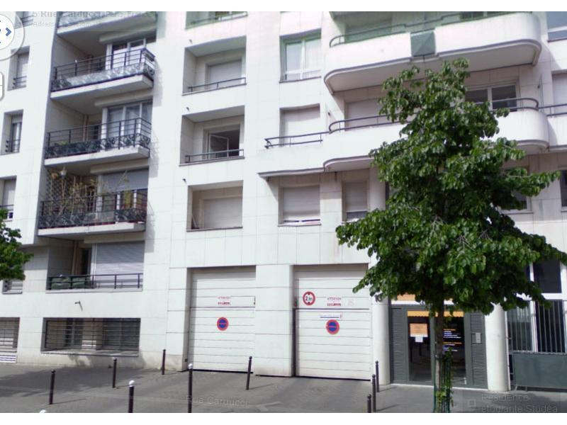 Place de parking à louer - Paris 75019 - 8 Rue Carducci, 75019 Paris, France