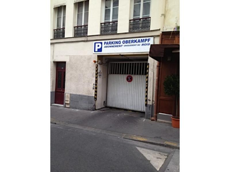 Location de parking - Paris-11E-Arrondissement 11 - Oberkampf