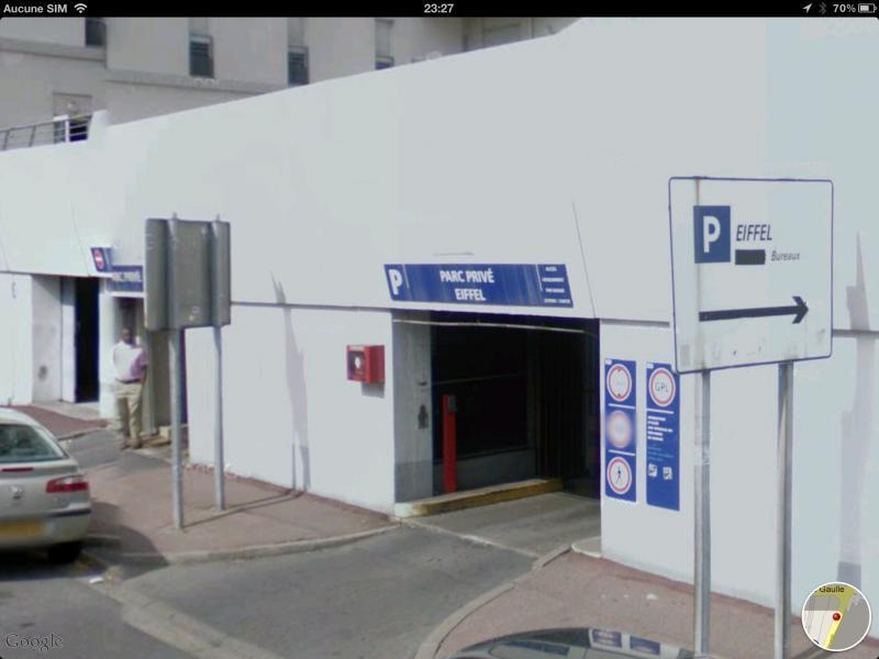 Place de parking louer cr teil 94000 rue gustave eiffel 94000 cr teil - Place de parking location ...
